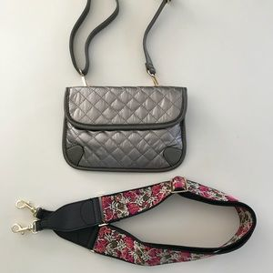 Bags - Guitar Strap, Crossbody, Shoulder, Belt Bag Pewter